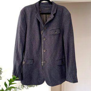 JOHN VARVATOS Wool Travel Jacket Casual Blazer